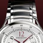 ���� Davidoff Silvered dial
