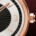 часы Davidoff Lady quartz red gold bicolour dial