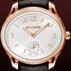���� Davidoff Lady quartz red gold silvered dial