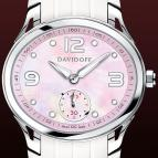 часы Davidoff Lady quartz pink mother of pearl dial