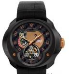 часы Franc Vila Tourbillon Planetaire Black