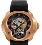 часы Franc Vila Tourbillon Planetaire GMT Red Gold