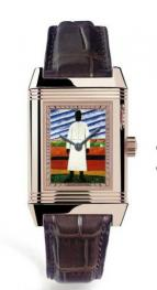 часы Jaeger-LeCoultre Reverso a Eclipses homage to Kazimir Malevich