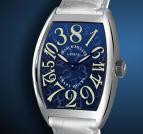 ���� Franck Muller Crazy Hours Blue Dial
