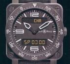 часы Bell & Ross Type Aviation Carbon Finish