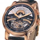 часы Arnold & Son Rose black dial