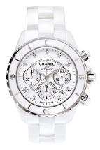 часы Chanel J12 Céramique blanche