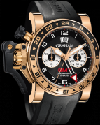 CHRONOFIGHTER OVERSIZE GMT BLACK GOLD