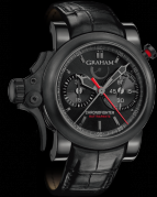 Chronofighter Trigger Back in Black Rattrapante