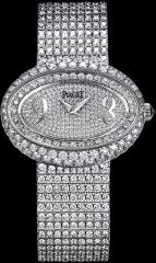 Limelight oval-shaped watch