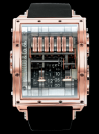Quenttin Tourbillon Collection Rose Gold